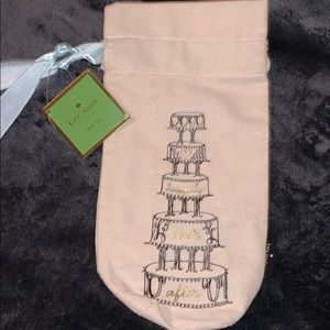 NWT Kate Spade Wedding Wine Bottle Bag